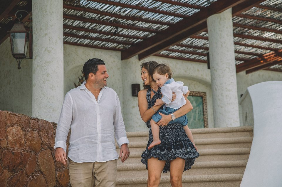 Cabo San Lucas Family Session at Las Ventanas al Paraiso