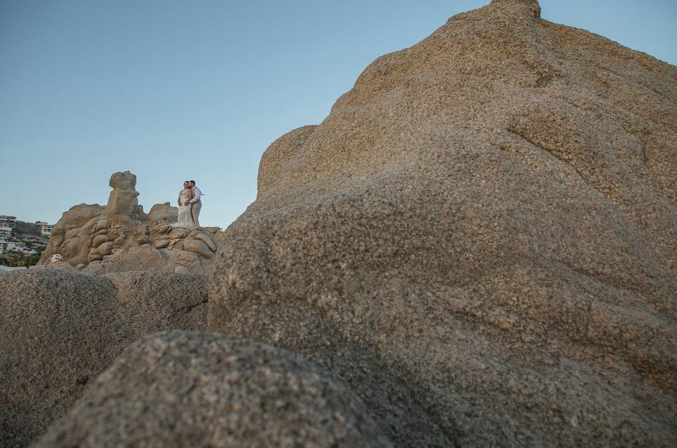 Cabo San Lucas Elopement at Pedregal Beach: A Baja Romance Weddings by Karla Casillas: Lisa & Marcos
