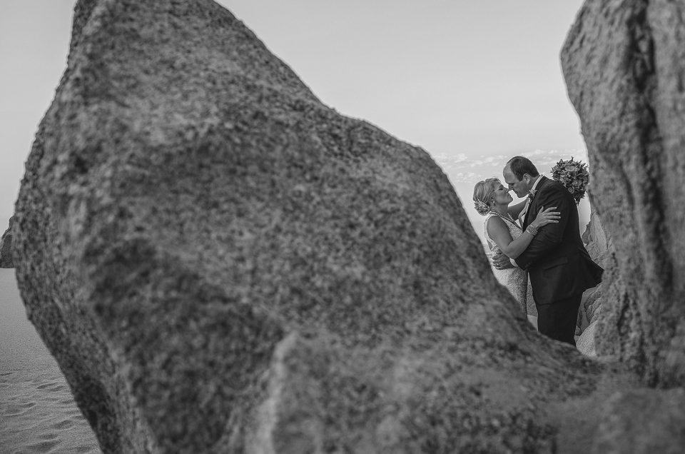 Cabo San Lucas Wedding at Pedregal Beach by A Baja Romance Weddings by Karla Casillas: Tori & Tom June 21, 2017