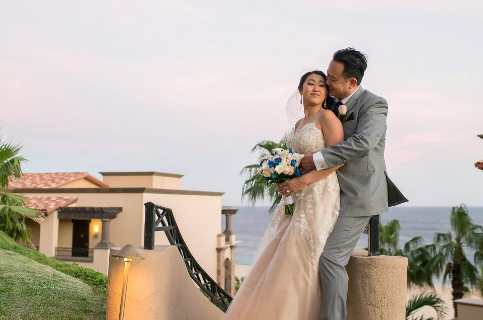 Pueblo Bonito Sunset Beach Wedding in Los Cabos: Jennifer & Duc