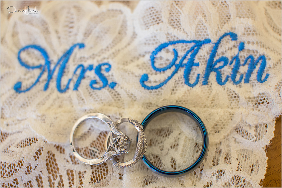 wedding rings with under wear