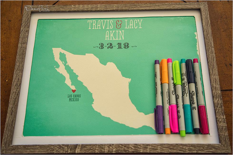 Mexico map Los Cabos