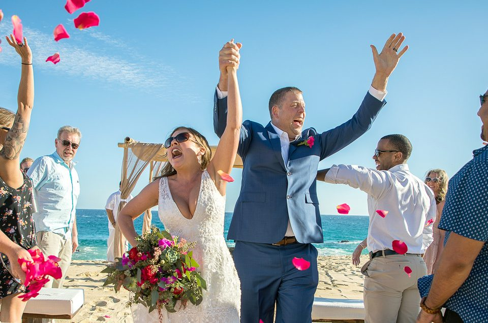 Cabo Weddings by Tammy Wolff at Pedregal Beach: Lacy & Travis