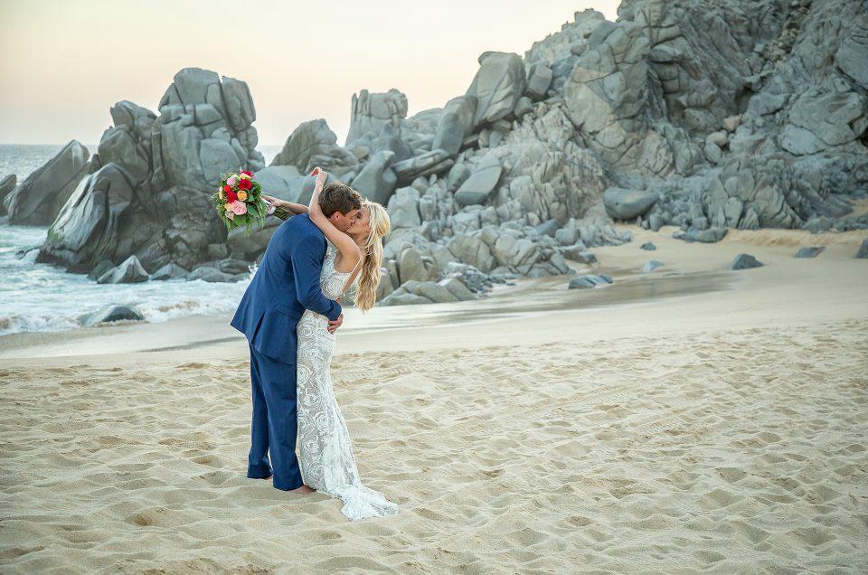 Cabo San Lucas Destination Wedding at Pueblo Bonito Sunset Beach: Christina & Clay