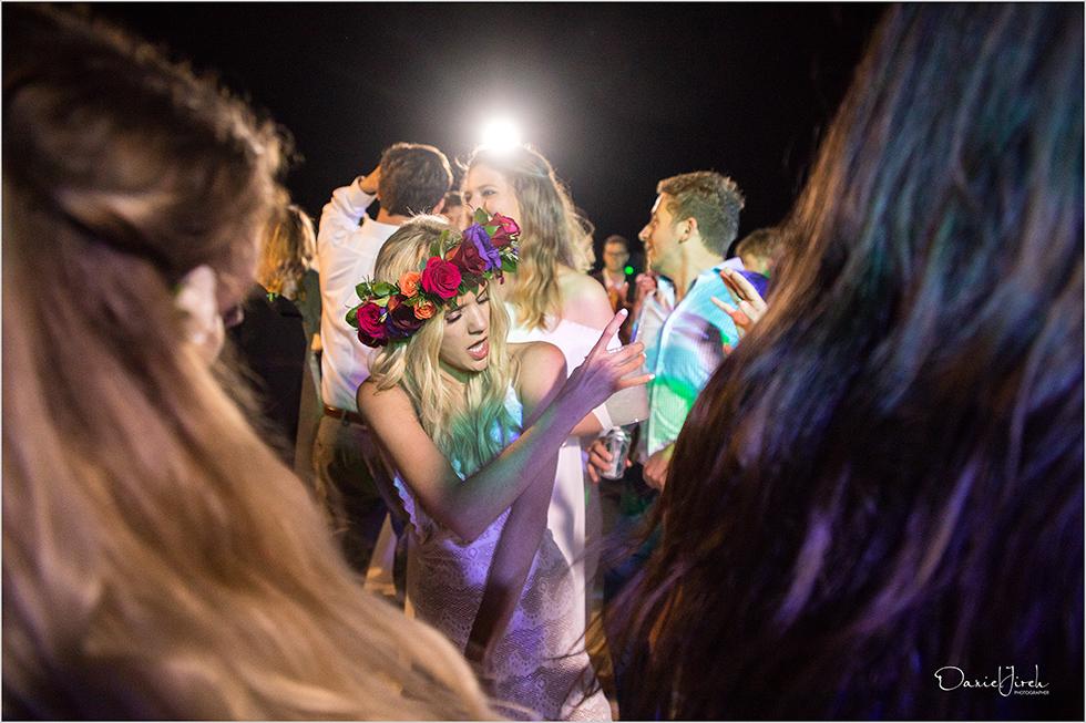bride dances at Los Cabos wedding