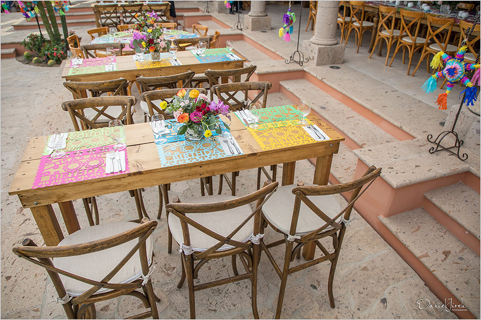 mexican tablescape