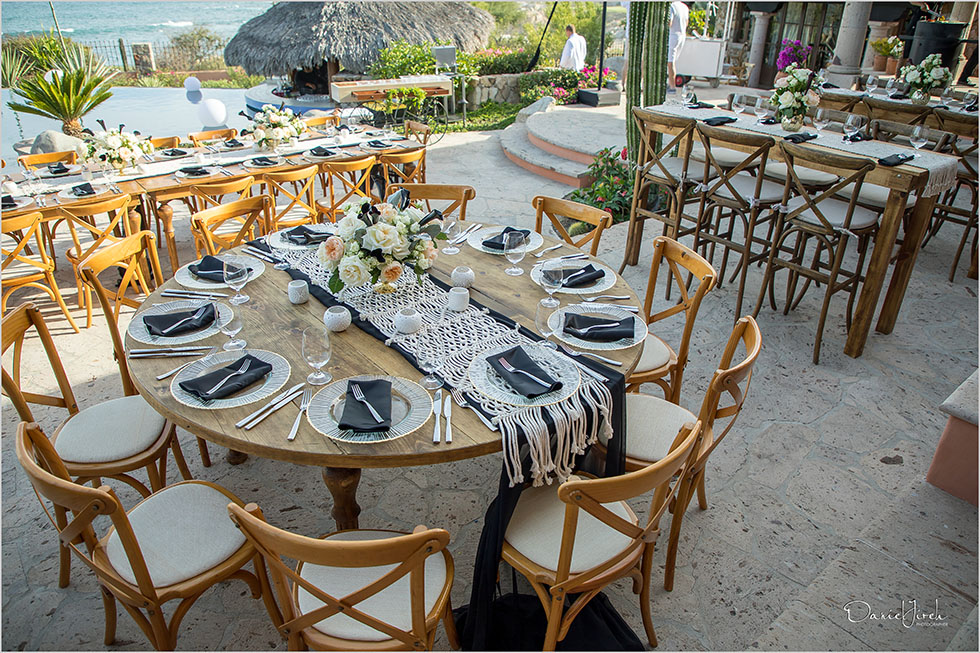 birthday party setup at villa vista ballena by Karla Casillas
