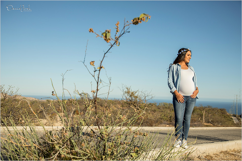 Maternity Session in Cabo San Lucas Mexico