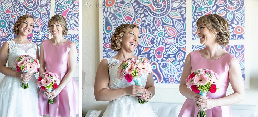 Cabo wedding photography Casa Dorada, destination bride, maid of honor