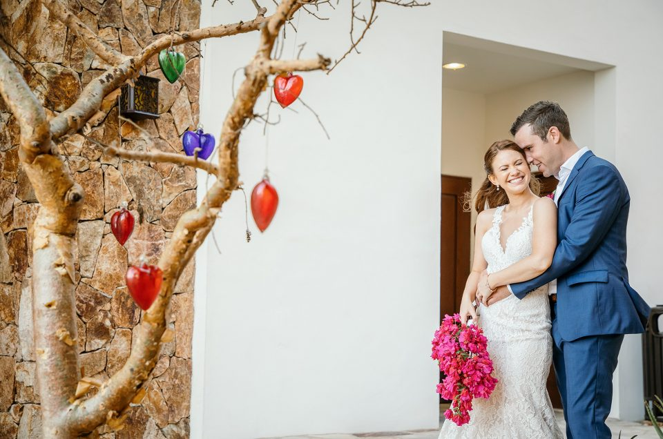 Cabo San Lucas Wedding Photographer at Grand Solmar Lands End Resort: Kelsey & Max