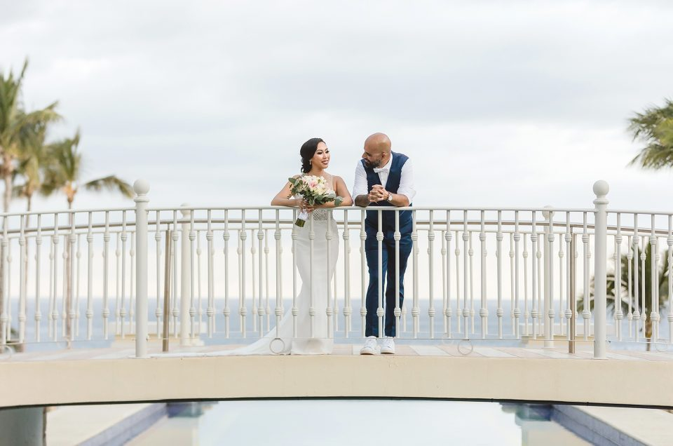 RIU PALACE DESTINATION WEDDING CABO SAN LUCAS, MEXICO : SALIDA & SHAHRAM
