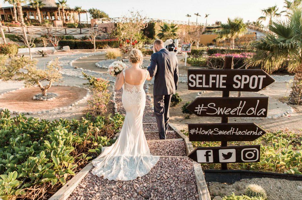 CABO SAN LUCAS WEDDING AT Hacienda Encantada AND SHERATON BY KARLA CASILLAS & CO : ASHLEIGH & BRADLEY